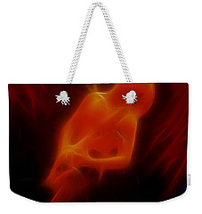 Def Leppard-adrenalize-gc13-phil-fractal Weekender Tote Bag by Gary Gingrich Galleries