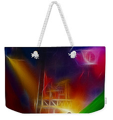 Def Leppard-adrenalize-gf10-fractal Weekender Tote Bag by Gary Gingrich Galleries