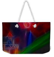 Def Leppard-adrenalize-gf12-fractal Weekender Tote Bag by Gary Gingrich Galleries