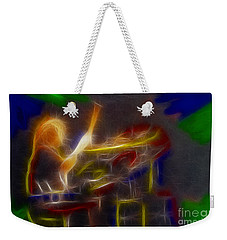 Def Leppard-adrenalize-gf24-ricka-fractal Weekender Tote Bag by Gary Gingrich Galleries