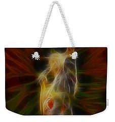 Def Leppard-adrenalize-joe-gb22-fractal-1 Weekender Tote Bag by Gary Gingrich Galleries