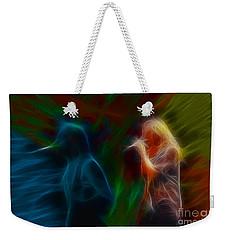 Def Leppard-adrenalize-jor-gb20--fractal Weekender Tote Bag by Gary Gingrich Galleries