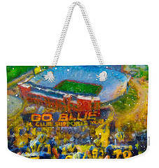 Defending The Big House Weekender Tote Bag by John Farr