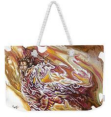 Defiance Weekender Tote Bag by Karina Llergo
