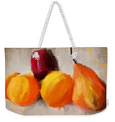 Delight Weekender Tote Bag by Lourry Legarde