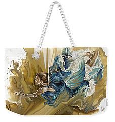 Deliver Weekender Tote Bag by Karina Llergo