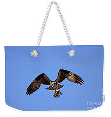 Delivery By Air Weekender Tote Bag by Mike  Dawson