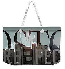 Derek Jeter - Boston Weekender Tote Bag by Joann Vitali