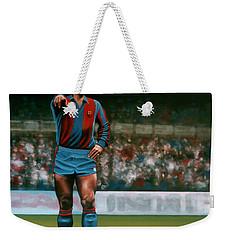 Diego Maradona Weekender Tote Bag by Paul Meijering