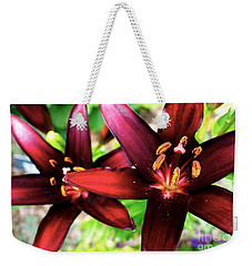 Dimension Lily 2 Weekender Tote Bag by Jacqueline Athmann
