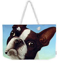 Dog-nature 4 Weekender Tote Bag by James W Johnson