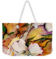 Dogwood In Spring Colors Weekender Tote Bag by Lil Taylor