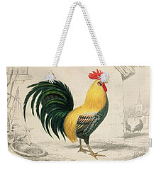 Domestic Cock Weekender Tote Bag by Edouard Travies