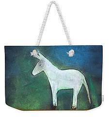 Donkey, 2011 Oil On Canvas Weekender Tote Bag by Roya Salari