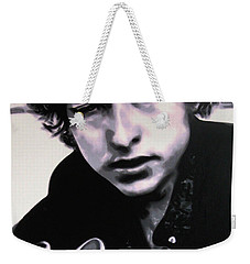 Dont Think Twice Its Alright  Weekender Tote Bag by Luis Ludzska