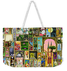 Doors Open Weekender Tote Bag by Colin Thompson