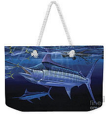 Down Under Off0055 Weekender Tote Bag by Carey Chen