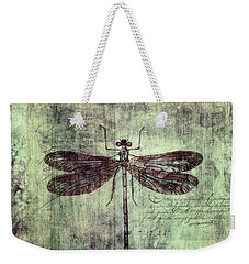 Dragonfly Weekender Tote Bag by Priska Wettstein