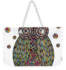 Dream Owl Weekender Tote Bag by Susan Claire