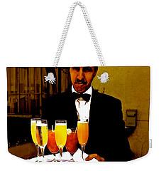 Drinks Anyone? Weekender Tote Bag by Christy Gendalia