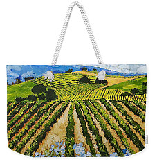 Early Crop Weekender Tote Bag by Allan P Friedlander