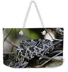 Eastern Diamondback-1 Weekender Tote Bag by Rudy Umans