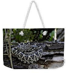 Eastern Diamondback-2 Weekender Tote Bag by Rudy Umans