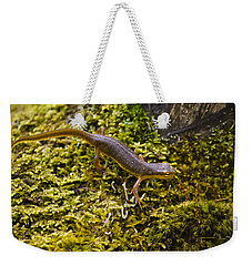 Eastern Newt Aquatic Adult Weekender Tote Bag by Christina Rollo