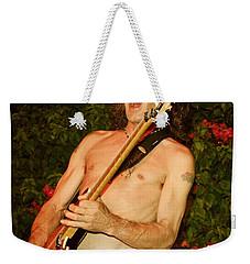 Eddie Van Halen Weekender Tote Bag by Nina Prommer