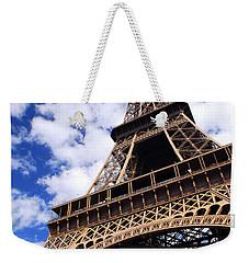 Eiffel Tower Weekender Tote Bag by Elena Elisseeva