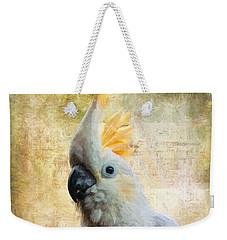 Elegant Lady Weekender Tote Bag by Lois Bryan