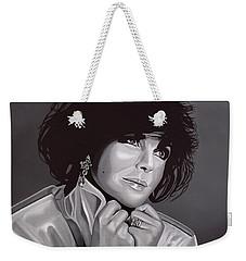 Elizabeth Taylor Weekender Tote Bag by Paul Meijering