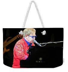 Elton John Live Weekender Tote Bag by Aaron Martens