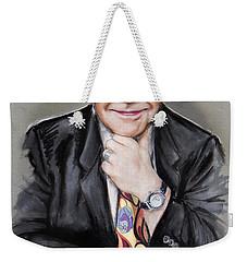 Elton John Weekender Tote Bag by Melanie D