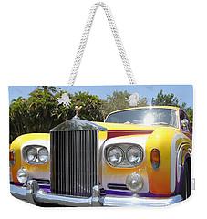 Elton John's Old Rolls Royce Weekender Tote Bag by Barbie Corbett-Newmin