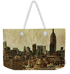 Empire Stories Weekender Tote Bag by Andrew Paranavitana