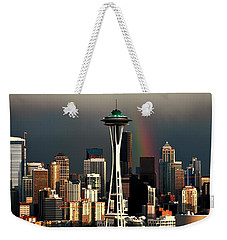 End Of The Rainbow Weekender Tote Bag by Benjamin Yeager
