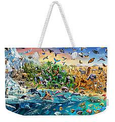Endangered Species Weekender Tote Bag by Adrian Chesterman