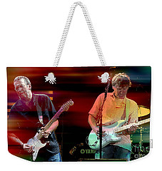 Eric Clapton And Steve Winwood Weekender Tote Bag by Marvin Blaine