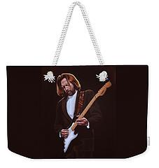Eric Clapton Painting Weekender Tote Bag by Paul Meijering