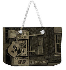 Ernest Tubb Record Shop Weekender Tote Bag by Dan Sproul