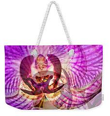 Ethereal Orchid By Sharon Cummings Weekender Tote Bag by Sharon Cummings