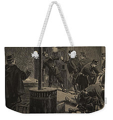 Etievant, The Anarchist Shoots Weekender Tote Bag by F.L. & Tofani, Oswaldo Meaulle