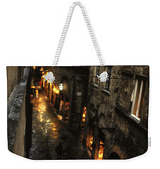 Evening In Volterra Weekender Tote Bag by Adele Buttolph