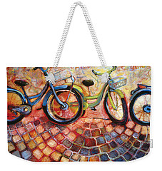 Fa Caldo Troppo Guidare Weekender Tote Bag by Jen Norton