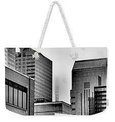 Fade To Grey Weekender Tote Bag by Rona Black