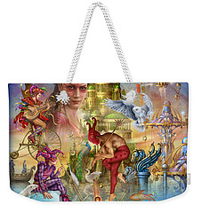 Fantasy Island Weekender Tote Bag by Ciro Marchetti