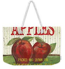 Farm Fresh Fruit 3 Weekender Tote Bag by Debbie DeWitt