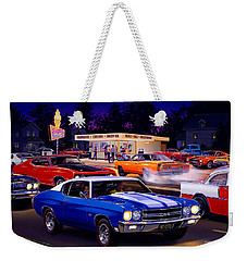 Fast Freds Weekender Tote Bag by Bruce Kaiser