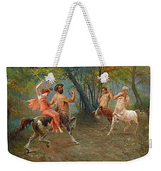 Feast Of The Centaurs Weekender Tote Bag by Ettore Forti